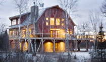 Lake Superior Barn Cabin Rental